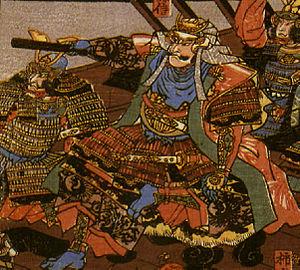 Uesugi Kenshin - Image: Illustration of Uesugi Kenshin, artist unknown