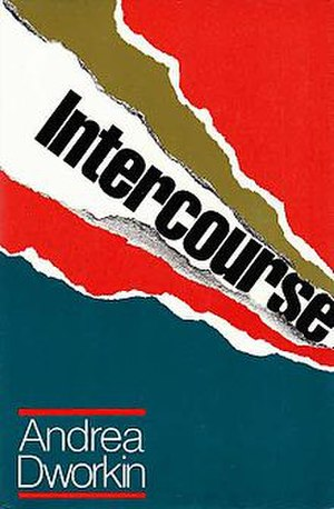 Intercourse (book) - Cover of the first edition