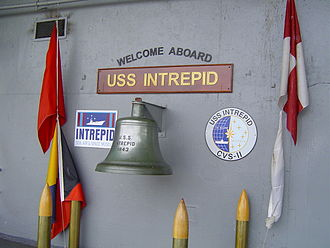 Intrepid Sea, Air & Space Museum - Museum entrance