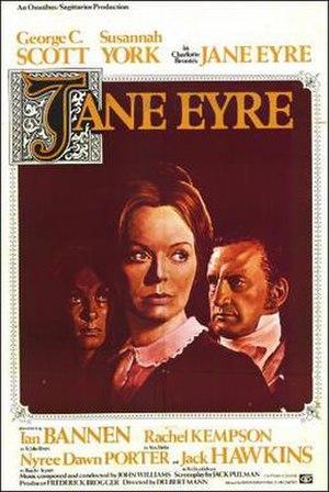 Jane Eyre (1970 film) - Original Movie Poster