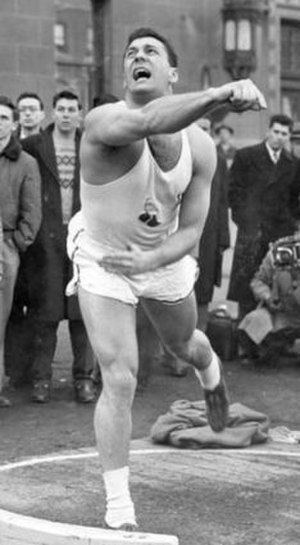 Jim Fuchs - Fuchs in 1952