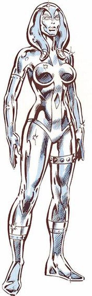 Jocasta (comics) - Image: Jocasta (Marvel Character) Full Figure Profile Picture
