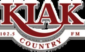 KIAK-FM - Image: KIAK 102.5Country logo