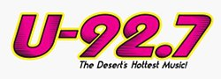 KKUU-FM U-92.7 The Desert's Hottest Music logo.jpg