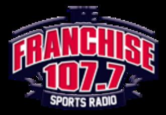 KRXO-FM - Image: KRXO The Franchise 107.7 logo