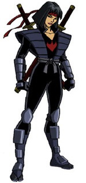 Karai (Teenage Mutant Ninja Turtles) - Karai as seen in the 2003 animated series' seasons 2-5