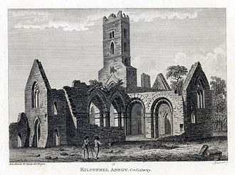 Kilconnell - The Abbey in 1793