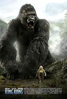 <i>King Kong</i> (2005 film) 2005 adventure film and remake of the 1933 film of the same name directed by Peter Jackson