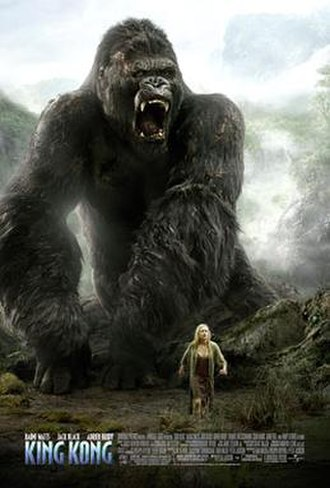 King Kong (2005 film) - Theatrical release poster