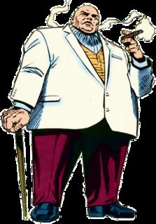 Kingpin (character) Comic book supervillain