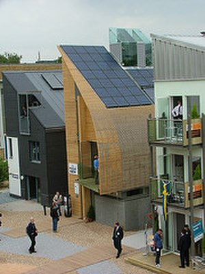 Sheppard Robson - The Lighthouse, Britain's first zero-carbon house