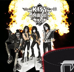 Kiss Alive 35 - Image: Kiss Alive 35 second cover