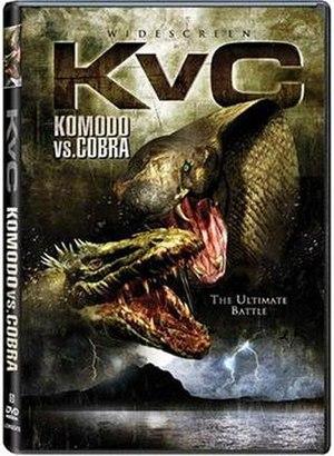 Komodo vs. Cobra - DVD Cover