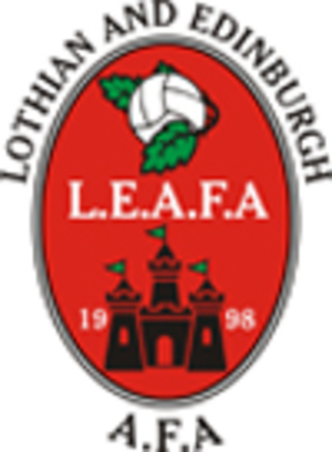 Lothian & Edinburgh Amateur Football Association - Image: Leafa