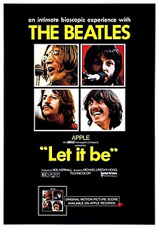 <i>Let It Be</i> (1970 film) 1970 documentary by Michael Lindsay-Hogg