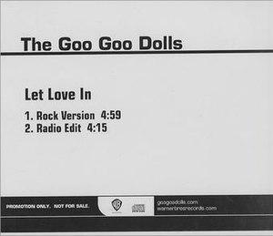 Let Love In (song) - Image: Let Love In GGD Single