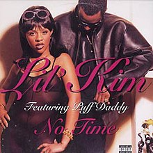 Lil' Kim featuring Puff Daddy — No Time (studio acapella)