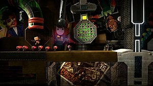 Sackbots can be programmed to follow Sackboy.