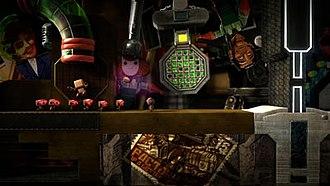 LittleBigPlanet 2 - Sackbots can be programmed to follow Sackboy.