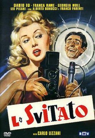 Lo svitato - Image: Lo svitato (film) poster