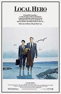 <i>Local Hero</i> (film) 1983 British film directed by Bill Forsyth