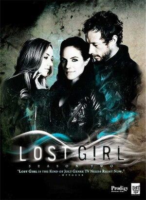 Lost Girl (season 2) - DVD cover