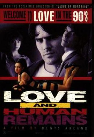 Love and Human Remains - Promotional movie poster for the film