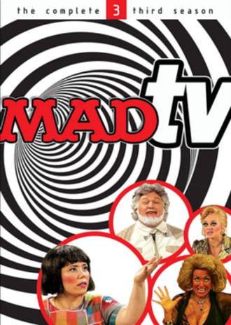 Mad TV (season 3) - DVD cover