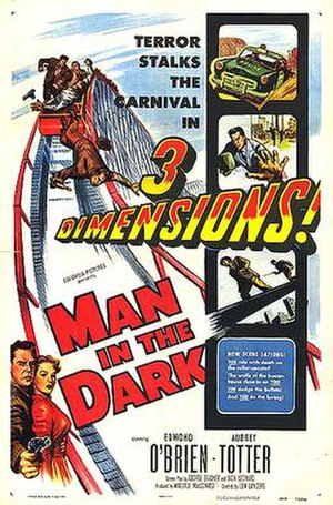 Man in the Dark - Theatrical release poster