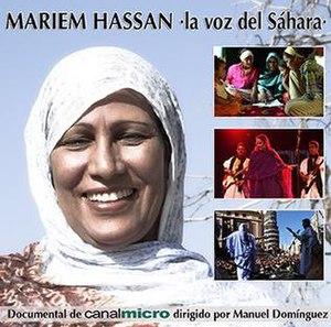 Mariem Hassan, la voz del Sáhara - Image: Marieum Hassan, la voz del Sahara