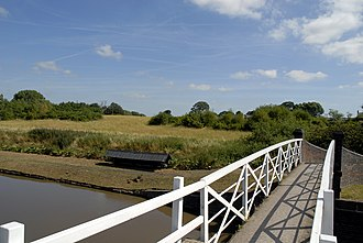 Roman Middlewich - Harbutt's (or Harvest) Field, site of the Roman fort.