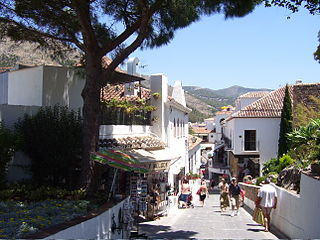 Mijas Place in Andalusia, Spain