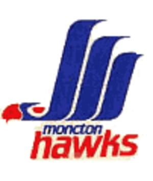 Moncton Hawks - Image: Moncton Hawks 1987 1994