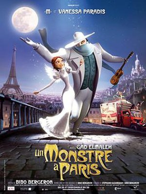 A Monster in Paris - French theatrical release poster