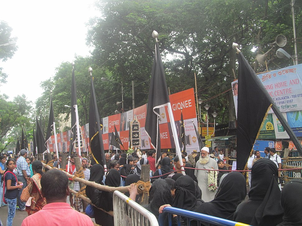 Muharram procession in Kolkata, 2016