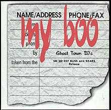 My Boo (Ghost Town DJ's song) - Wikipedia