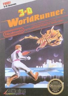 <i>The 3-D Battles of WorldRunner</i> 1987 NES game