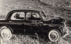 Michele Navarra - The bullet ridden Fiat of Navarra