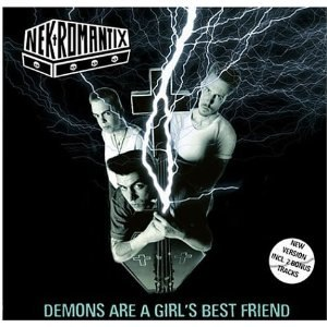Demons Are a Girl's Best Friend - Image: Nekromantix Demons Are a Girl's Best Friend re release cover