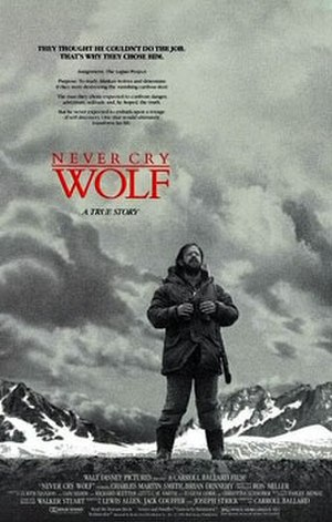 Never Cry Wolf (film) - Theatrical release poster
