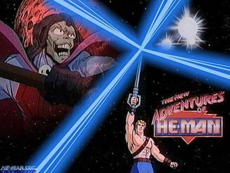 Masters of the Universe - The New Adventures animated series.