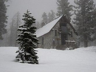 Ostrander Lake - Ostrander Ski Hut, March 2007