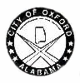 Oxford, Alabama - Image: Oxford alabama seal