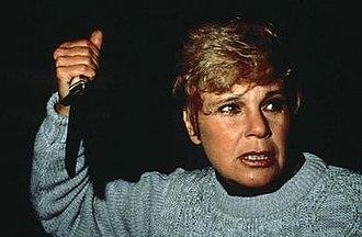 Pamela Voorhees - Pamela Voorhees during her killing spree.