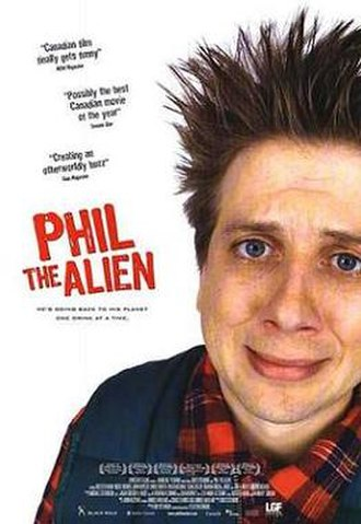 Phil the Alien - Theatrical release poster