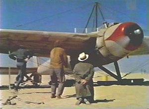 "Tallmantz Phoenix P-1 -  The Phoenix ""static"" model as seen in the film"