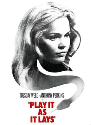 Play It as It Lays (film) - Image: Play It as It Lays (film)