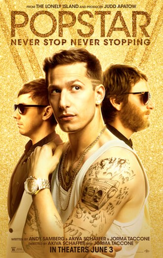 Popstar: Never Stop Never Stopping - Image: Popstar Lonely Island