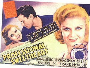 Professional Sweetheart - Theatrical poster