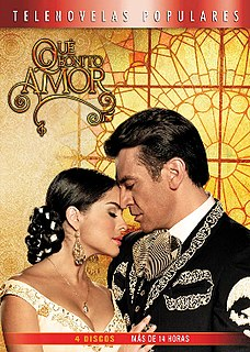 <i>Qué bonito amor</i> television series